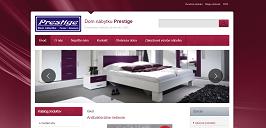 Odkaz na Nábytok Prestige Stará webová prezentácia