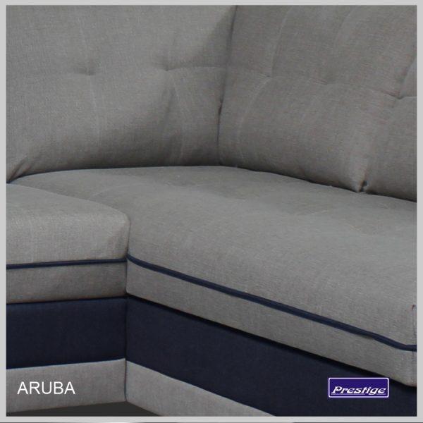 Aruba sedačka detail sedenie