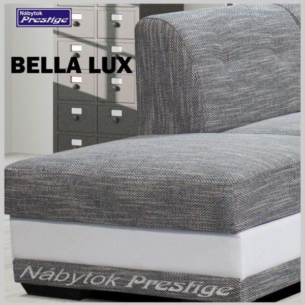 BELLA LUX sedacia súprava rohová detail otoman