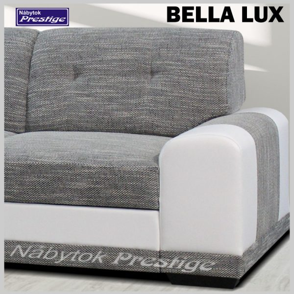 BELLA LUX sedačka rohová detail madlo