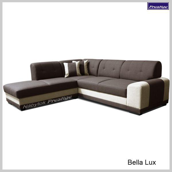 Bela Lux sedačka rohová hnedá
