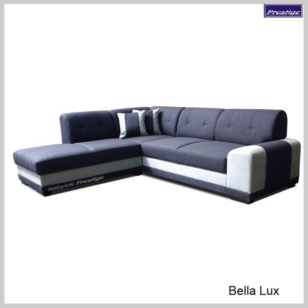 Bella Lux Sedačka rohová rozkladacia modrá
