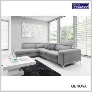 Genova sedačka rohová sivá