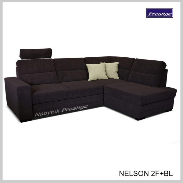 Nelson Rohová Rozkladacia sedacia súprava hnedý grafit