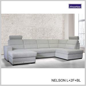 Nelson U L2FBL Sedačka rozkladacia sivá