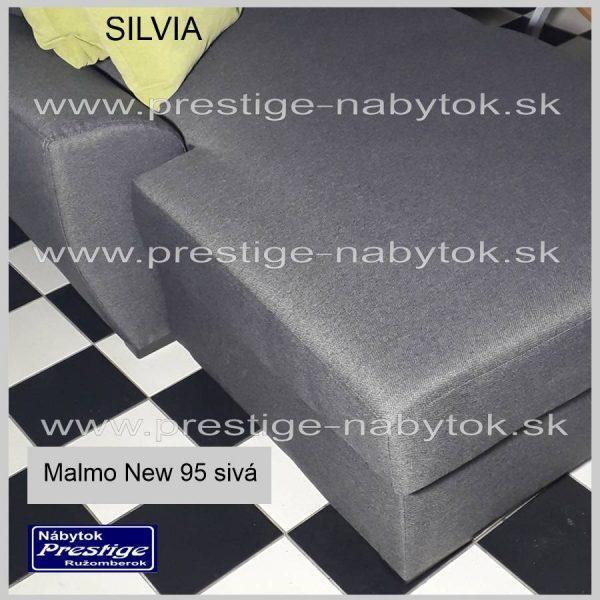 Sedačka Silvia Malmo New 95 sivá