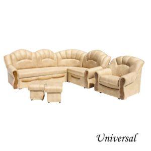Universal sedacia súprava rohová