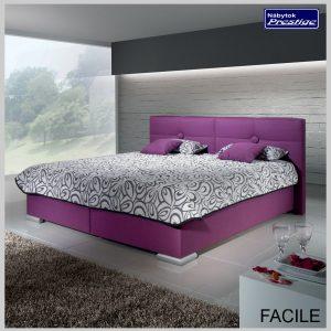 Posteľ FACILE fialová