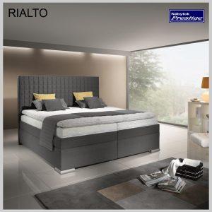 RIALTO posteľ sivá