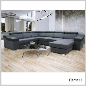 Dante U sedacia súprava Inari sivá