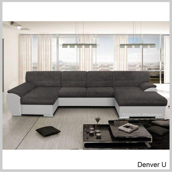 Denver U sedacia súprava Inari sivá