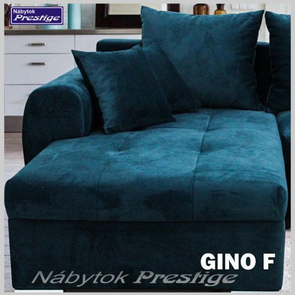 GINO F sedačka rohová detail madlo