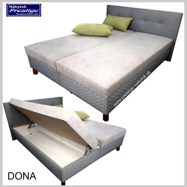 Dona posteľ úložný priestor
