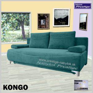 KONGO pohovka sedacia zelená