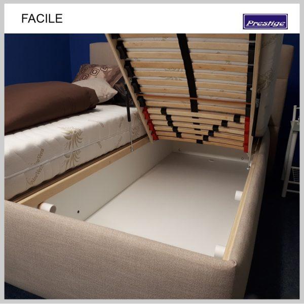 Facile posteľ Úložný priestor