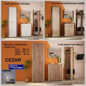Cezar predsieňová zostava prevedenia