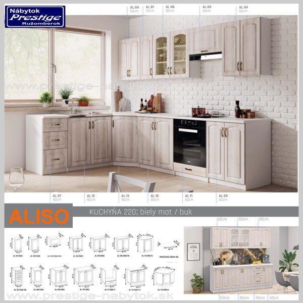 Kuchyňa ALISO sektor