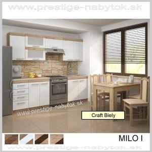 Milo I kuchynská linka Craft Biely