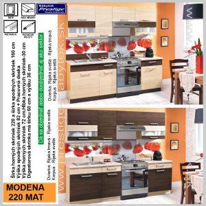 Modena 220 kuchynská linka