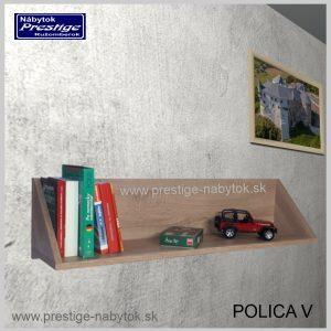 Polica na stenu V