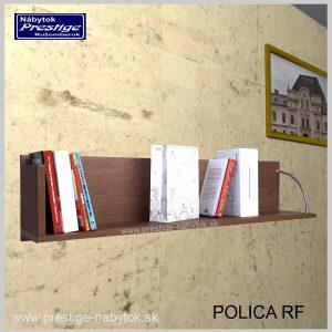 Polica na stenu orech RF