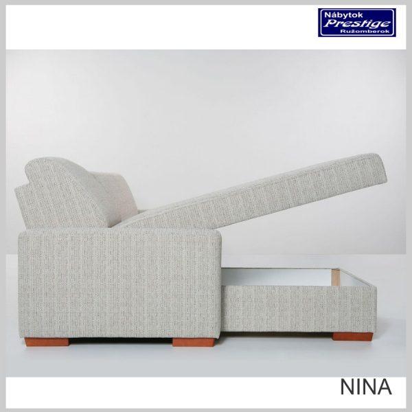 Nina sedacia súprava rohová úložný priestor