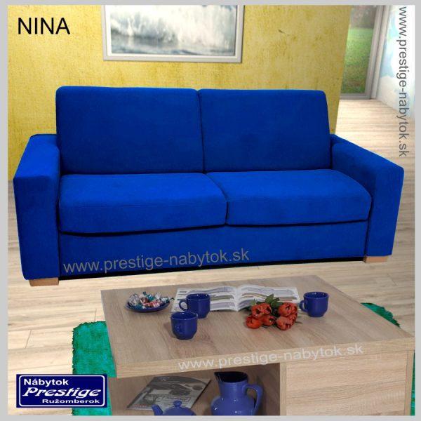Nina sedačka modrá