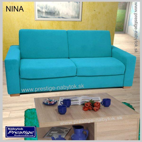 Nina sedačka rozkladacia modrá