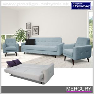 Mercury sedacia súprava