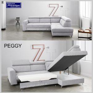 Peggy sedačka rohová úložný priestor