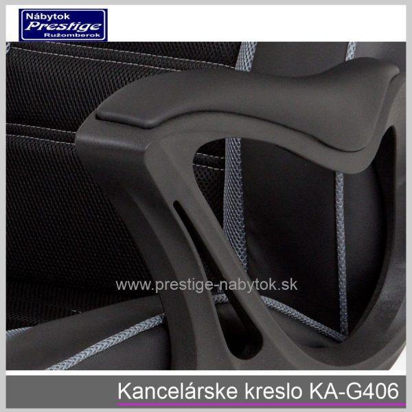 Kancelárska stolička KA-G406 detail 4