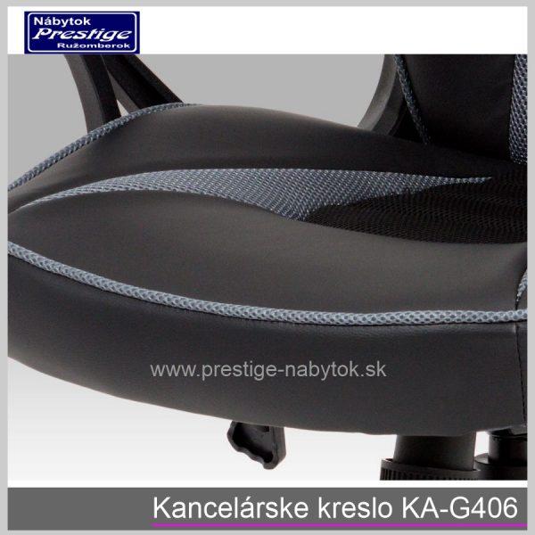 Kancelárska stolička KA-G406 detail 5