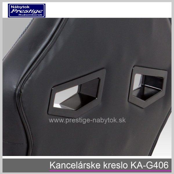 Kancelárska stolička KA-G406 detail 6