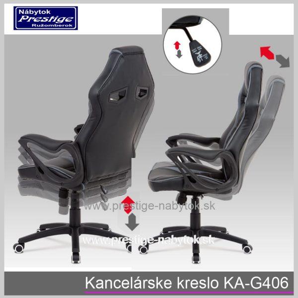 Kancelárske kreslo KA-G406 detail 1