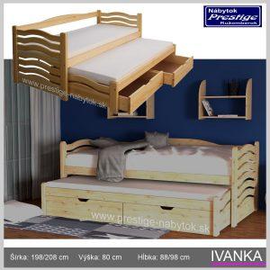 Detská posteľ Ivanka
