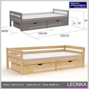 Detská posteľ Leonka