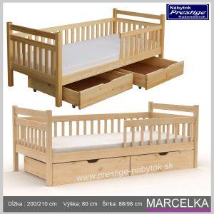 Detská posteľ Marcelka