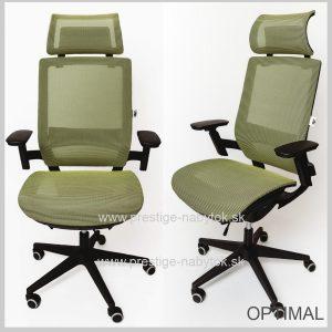 Stolička Optimal zelená 1