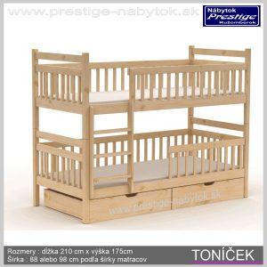 Toníček poschodová posteľ