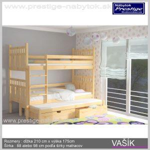 Vašík poschodová posteľ