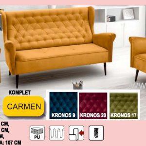 Carmen Sedacia súprava 3+1+1