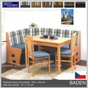 Jedálenský set Baden